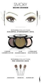 9 sephora makeup templates of eyeshadow01 jpg