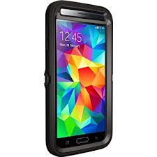 samsung galaxy s5 cases. otterbox defender series samsung galaxy s5 case, frustration-free packaging, black cases o