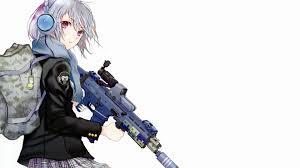 anime gun wallpaper 1920x1080. Interesting Anime 1920x1080 Anime Gril With Gun Hd Wallpaper Id56934 To Anime Gun Wallpaper N