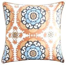 orange accent pillows. Orange Accent Pillows Medallion Pillow And Turquoise