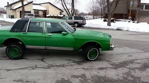 1989 Chevy Caprice Brougham LS (Custom lifted for 30