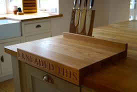 Personalised Chopping Boards with Lip from MakeMeSomethingSpecial.com