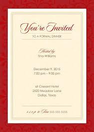 Work Invitation Engneeuforicco 264918600006 Formal Dinner