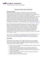 Phenomenal Project Coordinator Cover Letter 7 Coordinator Cover
