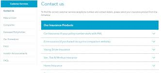 co op insurance contact us
