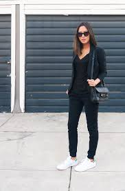 aimee song all black stan smith 2