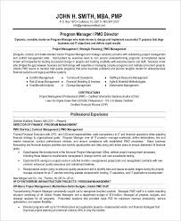 pmp sample resume resume cv cover letter within pmo manager resume