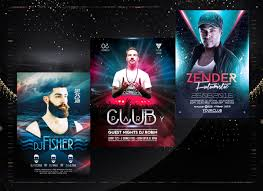 Concert Poster Design Designs Dj Musical Concert Club Night Party Flyer Or Poster