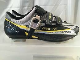Carnac Shoe Size Chart Carnac Escape Mtb Road Cycling Shoes Black Yellow Uk Size 6 Eu 40 Rrp 149 Ebay