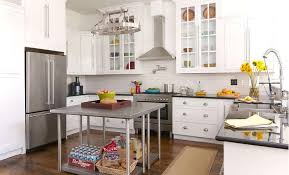 back to back freestanding kitchen islands