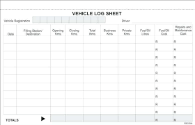 Vehicle Service Record Log Template Employment 5 Poporon Co