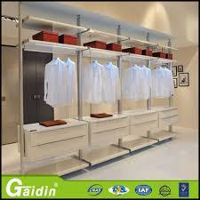 aluminum profile bedroom furniture save space closet cabinet organizers cloth modular wardrobe