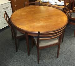 second hand round extending dining table tables