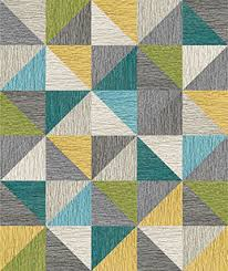 carpet pattern design. Made You Look 8 Triangle Patchwork -Kiwi Carpet Pattern Design