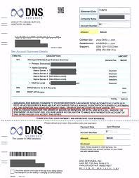 How To Make A Fake Invoice Best DNS Services Invoice Scam Alert