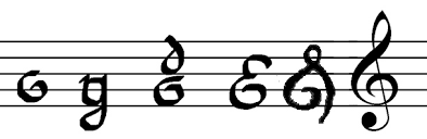 The Evolution Of The Treble Clef Arts Culture Smithsonian