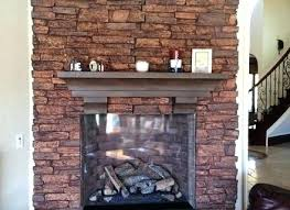 fake stone fireplace facade designs rock for ideas faux wonderful wall remove ck panels within moder rock fireplace
