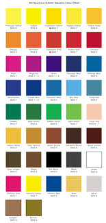 Art Spectrum Colour Chart Extraordinary Art Spectrum Colour Chart Art Spectrum Artists