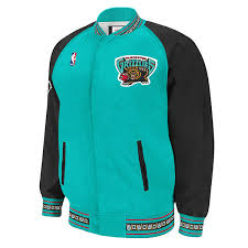 Authentic amp; Mitchell Jacket 1995-96 Ness Grizzlies Vancouver Up Nba Warm