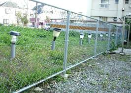 chain link fence post. Lowes Chain Link Fencing The Fence Post In Search Of Solar Powered . F
