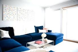 blue velvet sectional. Fine Sectional Blue Velvet Sectional Sofa For Wonderful Living And Regarding  Modern Home Designs With L