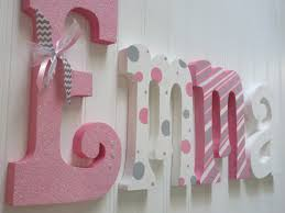 beautiful ative wall letters wood photo home design ideas and