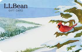l l bean egift card