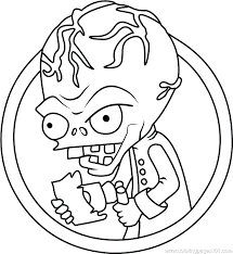 Coloring Pages Zombie Coloring Pages Free Get This Plants Vs