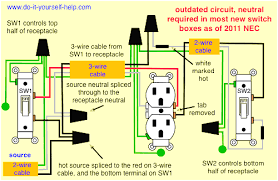 light switch wiring diagrams do it yourself help com striking basic house wiring diagram at Do It Yourself Wiring Diagrams