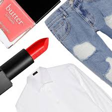 get makeup sns out of clothes