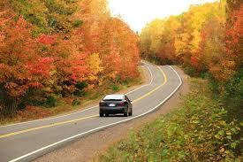 car driving down road. Simple Down Car Driving Down Road In Fall To Car Driving Down Road N