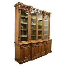 decoration library bookcase glass doors with oak four door c united kingdom uk bookcases beautiful bookshelf glass doors