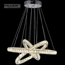 hanging lighting fixtures. Modern LED Crystal Chandeliers Pendant Lights Ceiling Hanging Lighting Fixtures With AC110-240V SMD E