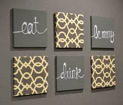 square hanging dining room canvas wall art decorations printable printed white text eat drink happy painted on eat drink love canvas wall art with 100 dining room wall art canvas incredible wall art canvas within
