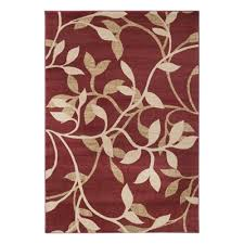 surya riley dark red area rug