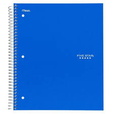 Graph Ruled Notebook Vertical Vector Realistic Graph Ruled Notebook