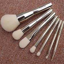 kiko makeup brushes tools kits blush eyeshadow powder foundation brand professtional metal handle make up brush set dhl free ship makeup bo makeup