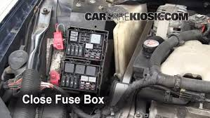 blown fuse check 2000 2005 chevrolet impala 2003 chevrolet 6 replace cover secure the cover and test component
