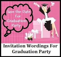 sample graduation invitations sample invitation wordings graduation announcement party