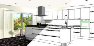 computer kitchen design. Simple Kitchen 812x401 Computer Kitchen Design To GetDrawingscom