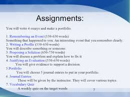 english writing workshop spring meet twice a week m 7 assignments you will write 4 essays and make a portfolio