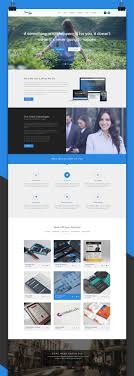 psd portfolio website templates designmaz themepie one page psd web template