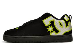 dc shoes for men low cut. genuine overseas classic shoes dc court graphic se black / green shoes court graffik dc for men low cut