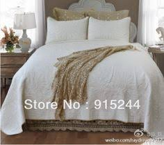 Find More Information about white green blue bedspread rustic rose ... & Find More Information about white green blue bedspread rustic rose flower  quilt princess lace cotton quilting quilts postoral summer cool bedcover… Adamdwight.com