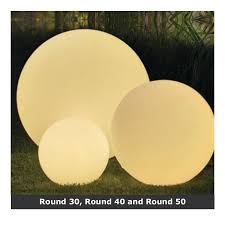 garden ball lights