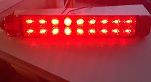 red led tail 12 inch light bar brake turn signal 18 diode rv red led tail 12 inch light bar brake turn signal 18 diode rv trailer camper 12v