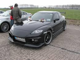 mazda rx8 black modified. custom mazda rx8 rx8 black modified