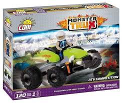 Купить <b>Конструктор Cobi</b> Monster Trux 20059 Гонка по низкой ...