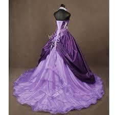 best 25 purple wedding gown ideas