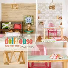 how to make barbie furniture. Diy_dollhouse_living_room How To Make Barbie Furniture